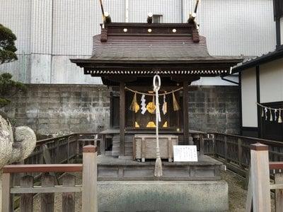 宮城県御釜神社の本殿