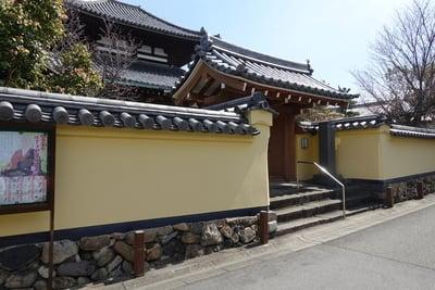 奈良県福智院の山門