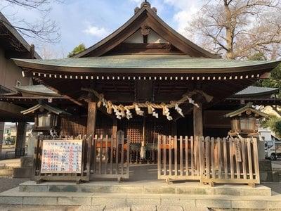 高城神社の本殿