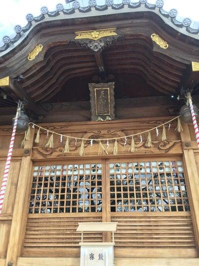 愛知県天神社(長草天神社)の本殿