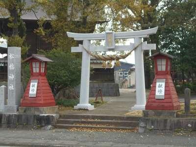 熊本県松橋神社の鳥居