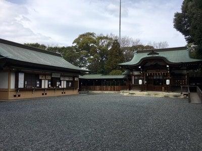 愛知県氷上姉子神社の本殿