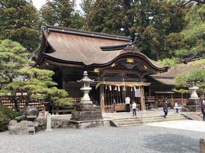 静岡県小國神社の本殿