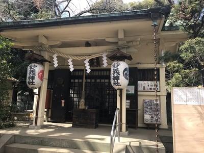 東京都駒込妙義神社の本殿