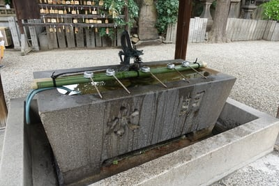 廣田神社(大阪府今宮戎駅) - 手水舎の写真