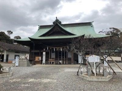見付天神矢奈比賣神社の本殿