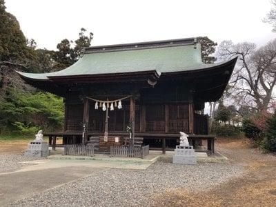 淡海國玉神社の本殿
