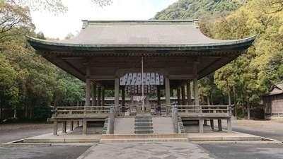 鹿児島県鶴嶺神社の本殿