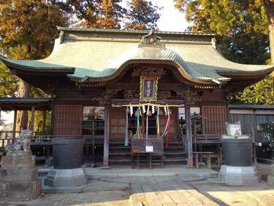 茨城県若宮八幡宮の山門