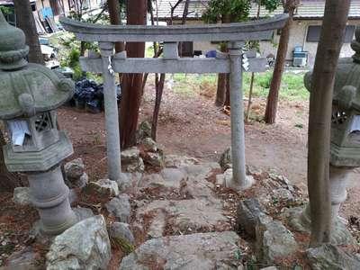村上神社の鳥居