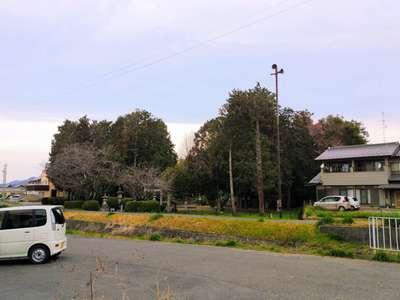 神明神社の周辺