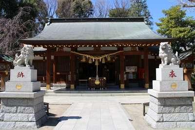 東京都新田神社の本殿