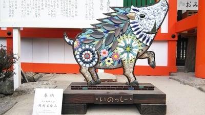 賀茂別雷神社(上賀茂神社)(京都府北山駅) - 狛犬の写真