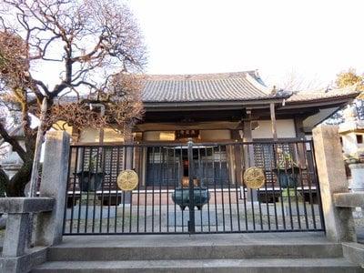 東京都森巌寺の本殿