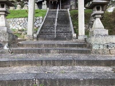 岡山県松江伊津岐神社の建物その他