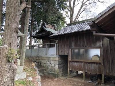 岡山県松江伊津岐神社の本殿