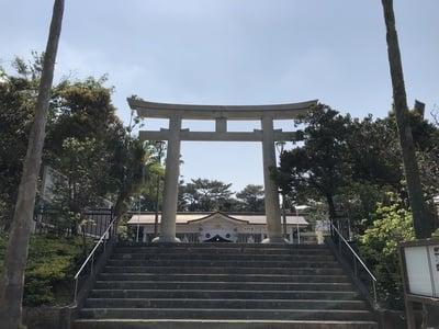 沖縄県護国神社の鳥居