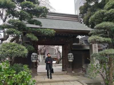 東京都常圓寺の山門