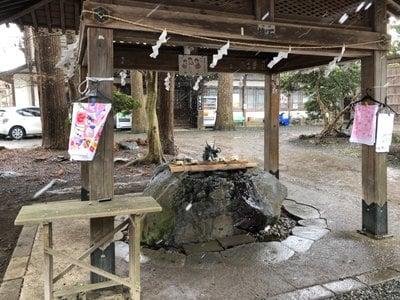 駒形神社の手水