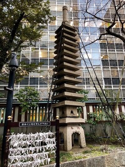 虎ノ門金刀比羅宮(東京都虎ノ門駅) - 塔の写真