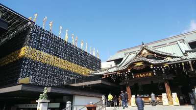 成田山深川不動堂(新勝寺東京別院)の本殿