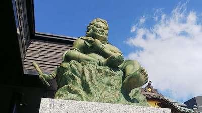 成田山深川不動堂(新勝寺東京別院)の像