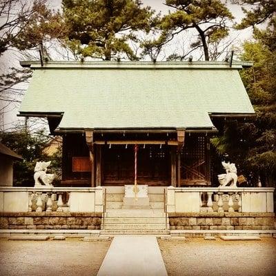 東京都鹿島神社の本殿