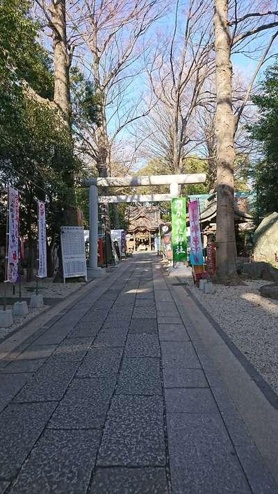 東京都田無神社の鳥居