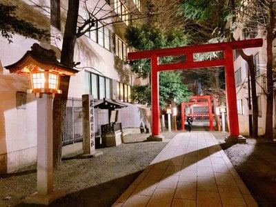 花園神社(東京都新宿三丁目駅) - 鳥居の写真