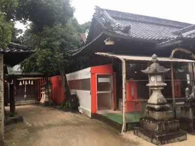 広島県三蔵稲荷神社の本殿