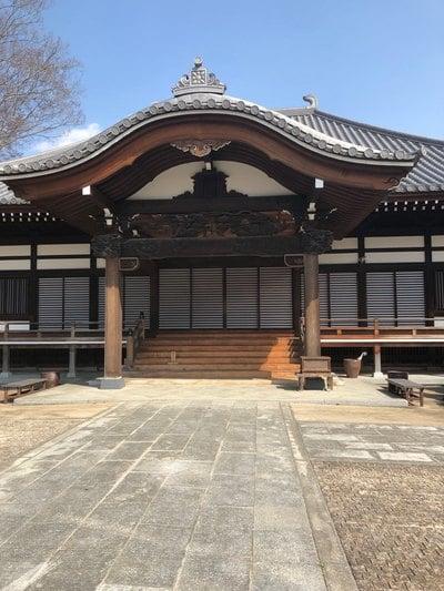 栃木県龍興寺の本殿