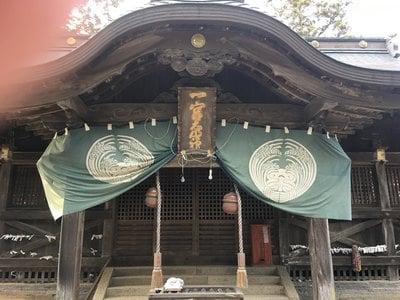 徳島県一宮神社の本殿