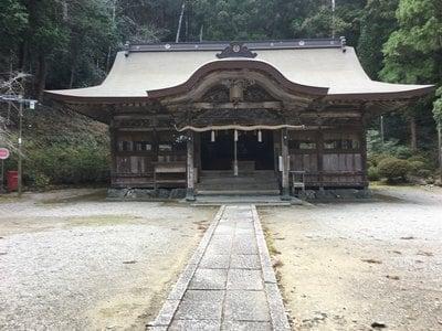 上一宮大粟神社の本殿