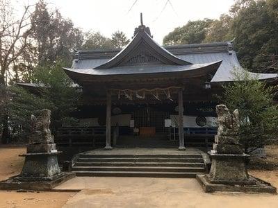 天石門別八倉比売神社の本殿