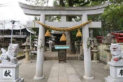 東照宮(名古屋東照宮)(愛知県丸の内駅) - 鳥居の写真