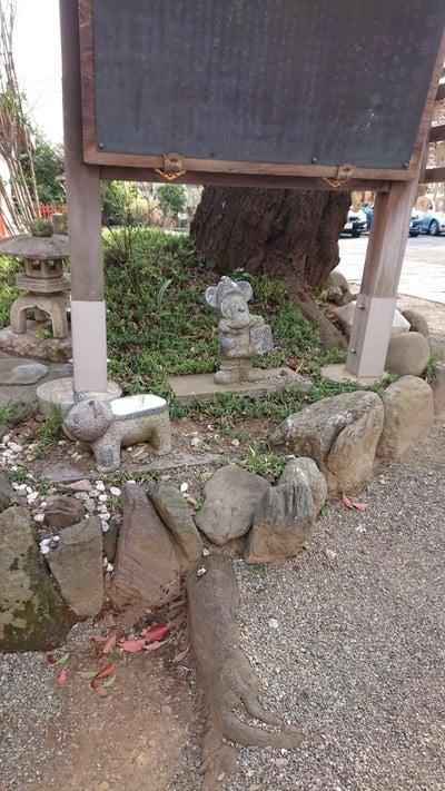 居木神社(東京都大崎駅) - 像の写真