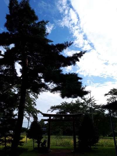 岩手県神明神社の写真