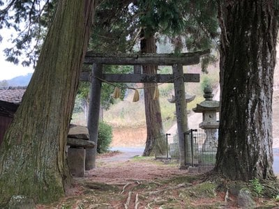 岡山県石上布都魂神社の鳥居