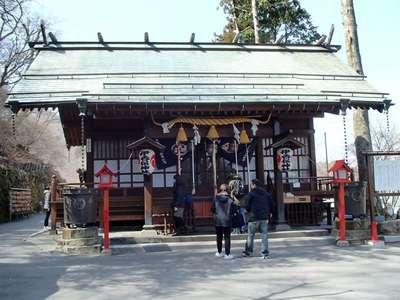 群馬県伊香保神社の本殿