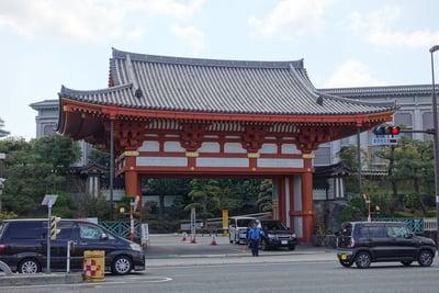 大阪府金剛寺の山門