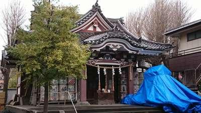 神奈川県若宮八幡宮 の本殿