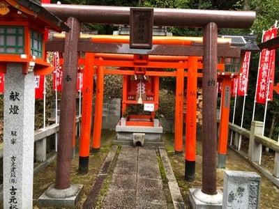 広島県吉備津神社の鳥居