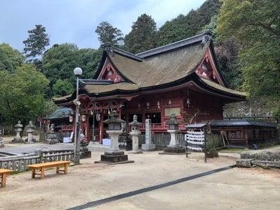 広島県吉備津神社の本殿