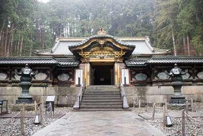 栃木県輪王寺の本殿