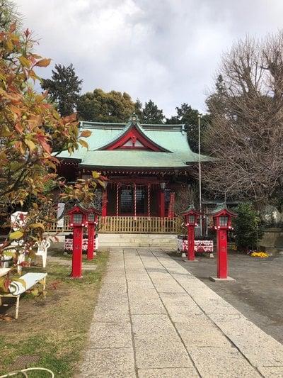 神奈川県岡村天満宮の本殿