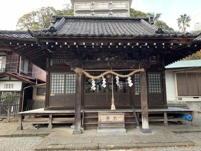 静岡県湯前神社の本殿