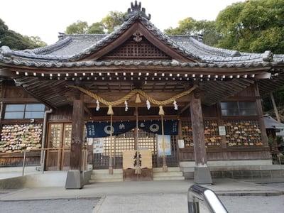 長崎県高城神社の本殿