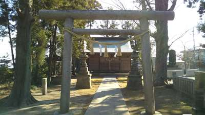 鹿島香取神社の鳥居