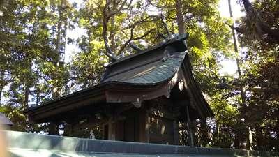 春日香取神社の本殿