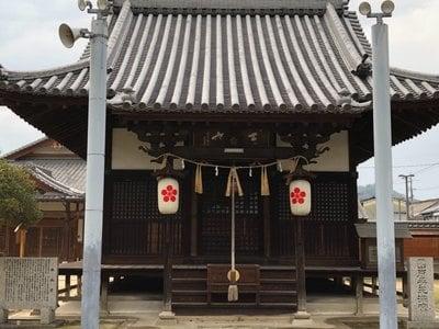 素盞嗚神社の本殿